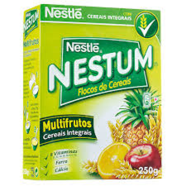 Nestum Multifrutos Cereais Integrais Nestle 250g